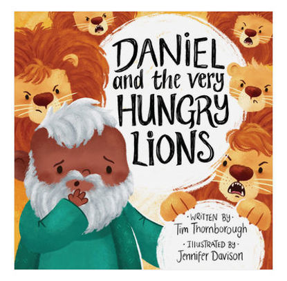 Picture of Daniel and the very Hungary lions